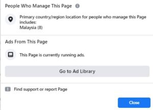 ads library
